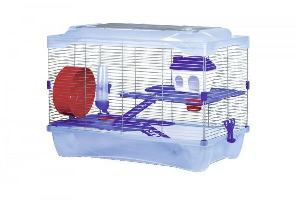 Hamsterkäfig mit Etagen und Zubehör