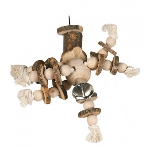 Käfighänger Seil mit Stamm Vogelspielzeug