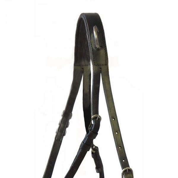 Halskoppelriemen Basic für Zweispänner