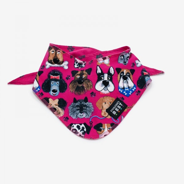 Knauder´s Best Hundehalstuch Super Dog Pink