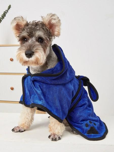 Bademantel für Hunde Hundebademantel