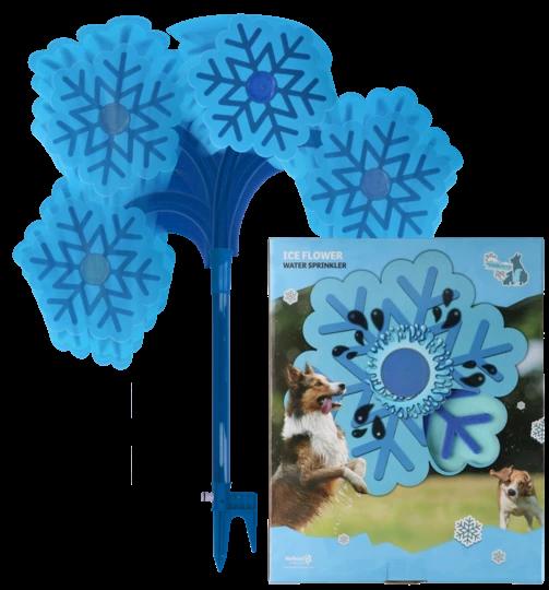 Coolpets Wasserspielzeug IceFlower für Hunde