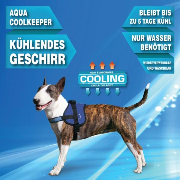 Aqua Coolkeeper™ Kühlendes Geschirr für Hunde