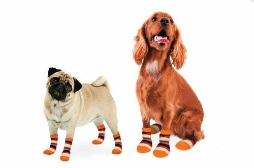 Hundesocken Anti-Rutsch Bunt