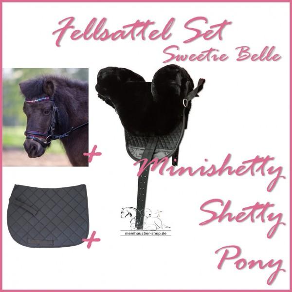 Little Pony Fellsattel Sweetie Belle Set Pinky Black