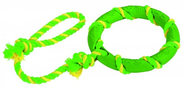 Gummiring am Seil
