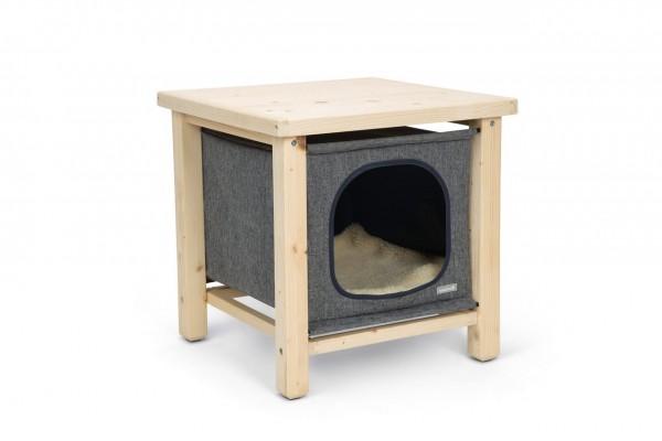 Beeztees Katzenhaus Holz Pitoux