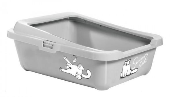 Simon's Cat, Katzentoilette mit Rand