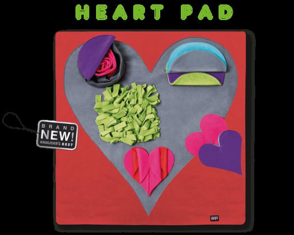 Knauder´s Best Heart Pad Schnüffelteppich