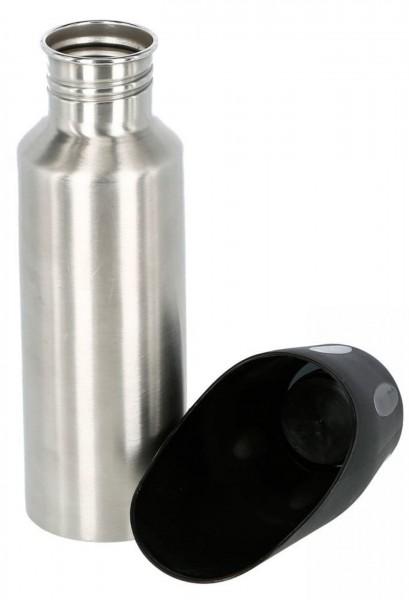Reisetrinkflasche aus Edelstahl