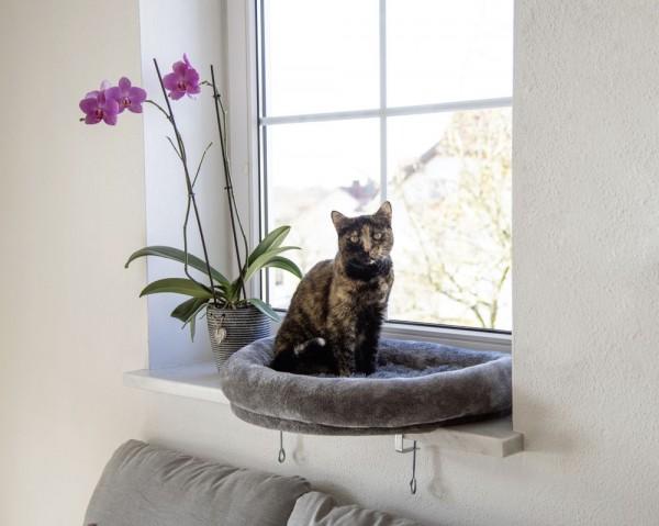 Katzenbett für alle Fensterbänke