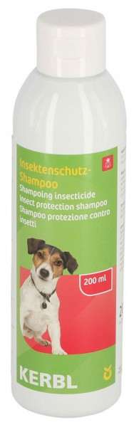 Shampoo für Hunde zum Schutz gegen Insekten
