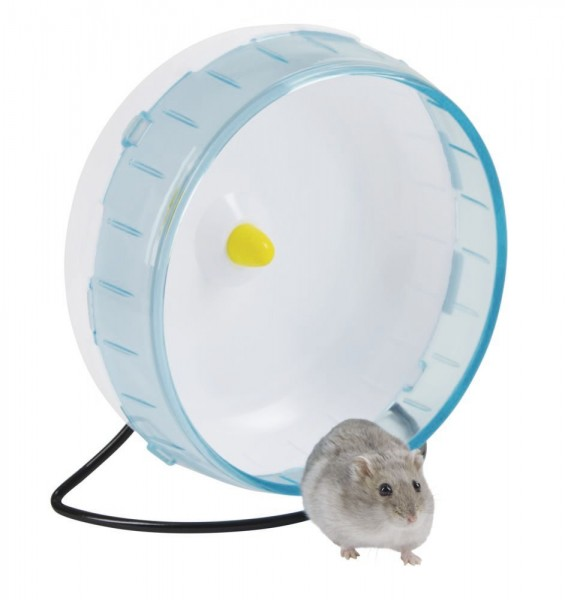 Hamsterlaufrad aus Kunststoff