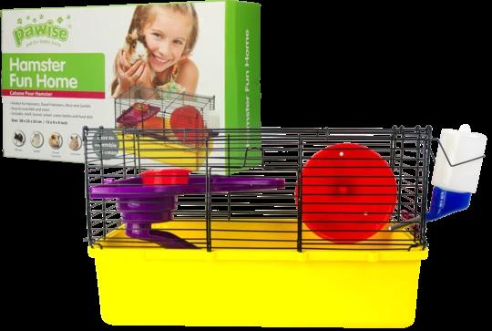 Fun Haus für Hamster, Mäuse und Wüstenratten