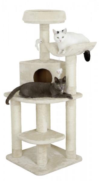 Platzsparender Eckkratzbaum Zirkonia für Katzen