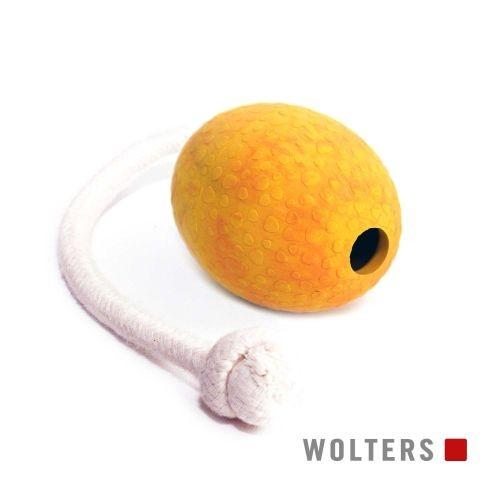 Wolters Snackpielzeug Straußen Ei am Seil