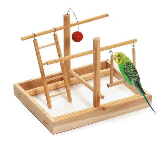 Spielplatz für Vögel aus Holz