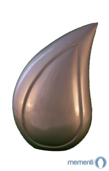 Mementi Silbergraue Tierurne in Tränenform