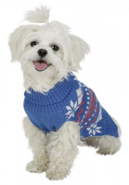Hundepulli Ellmau im auffällien Winterlook