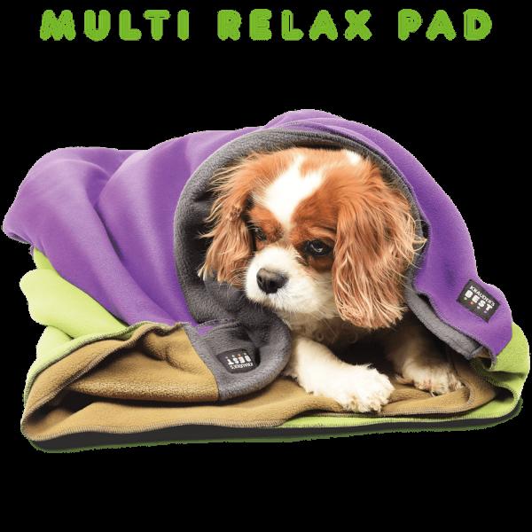 KnaudersBest Multi Relax Pad Hundedecke zum Einkuscheln