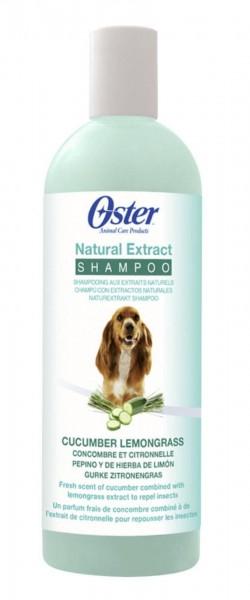 Oster Shampoo Natural Extract mit Gurke Zitronengras