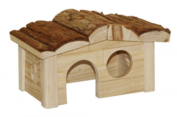 Hamsterhaus Natur aus Holz