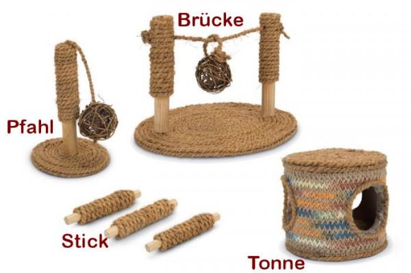 Spielzeug aus Kokusnussseil für Nager