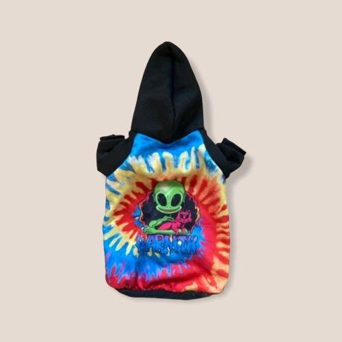 Hoodie für Hunde Hundepullover Batik