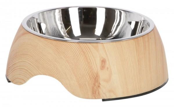 Melamin Hundenapf Wood