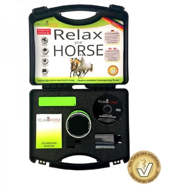RelaxoHorse für Pferde Entspannungssystem