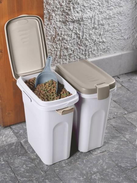 Petfood-Container Futteraufbewahrung mit System