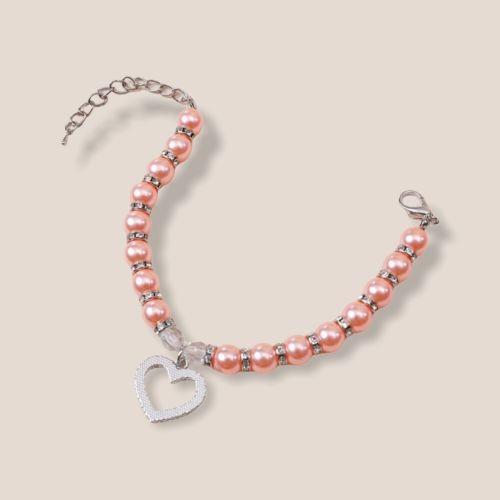 Halsband Halskette Strass Herz