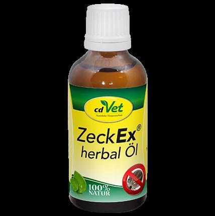ZeckEx herbal Öl Einzelfuttermittel