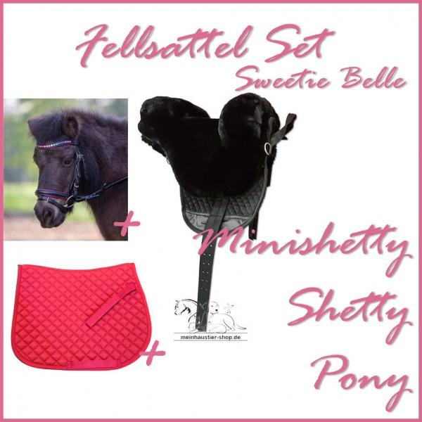 Little Pony Fellsattel Sweetie Belle Set Pinky Azalee
