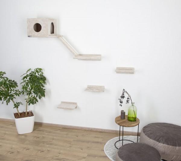 Kratzbaum Montblanc zur Wandbefestigung für Katzen